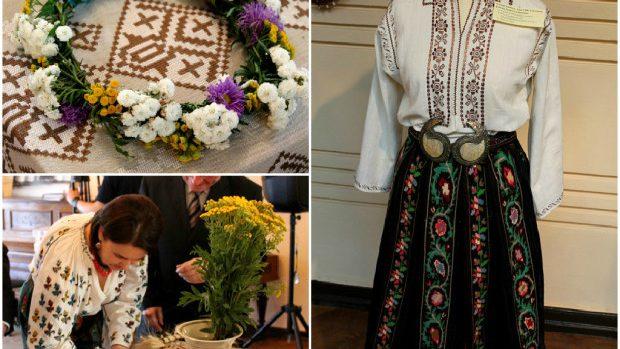 (foto) De Ziua Iei au fost expuse cele mai valoroase costume populare românești