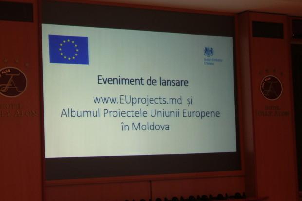 Eveniment de lansare EUprojects.md