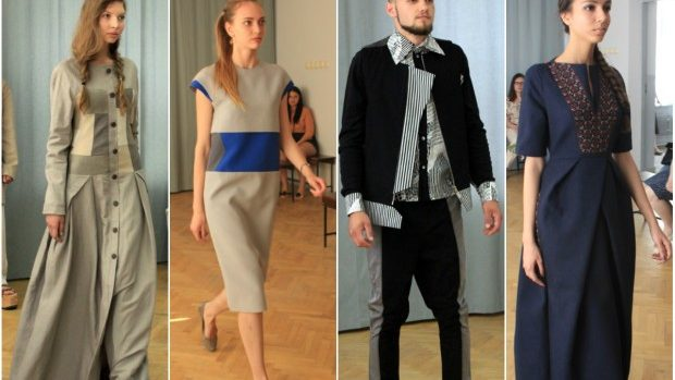 (foto) Contraste în culori și țesături la colecțiile de licență ale designerilor vestimentari de la UTM