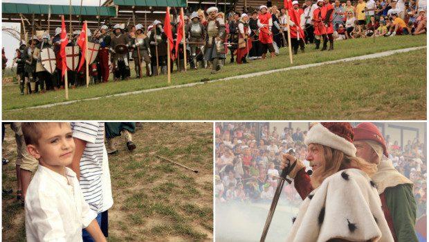 (foto) Festivalul Medieval – Raiul copiilor și amatorilor de bătălii istorice