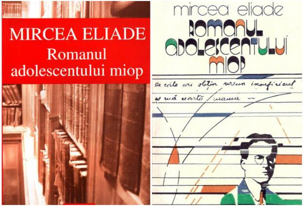 Romanul adolescentului miop de Mircea Eliade