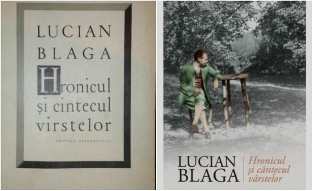 Hronicul și cântecul vârstelor de Lucian Blaga