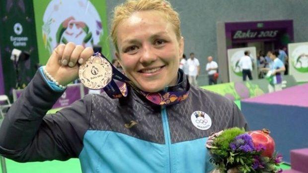 (foto, video) Moldova a cucerit prima medalie la Jocurile Europene: bronzul la lupte libere feminine