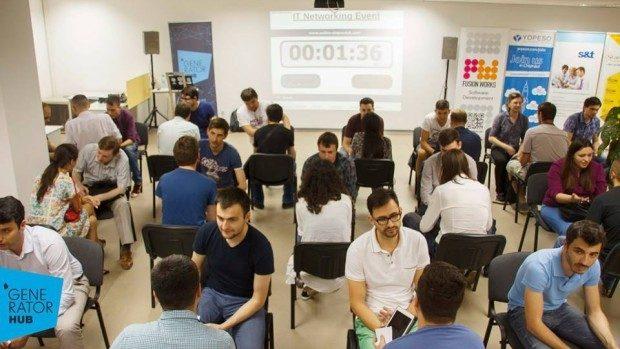 (foto) La Chișinău a avut loc primul eveniment de speed dating în stil antreprenorial