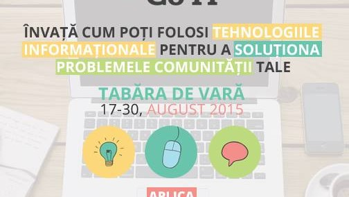 Realizează proiecte inovatoare pentru comunitatea ta la tabăra de vară GirlsGoIT