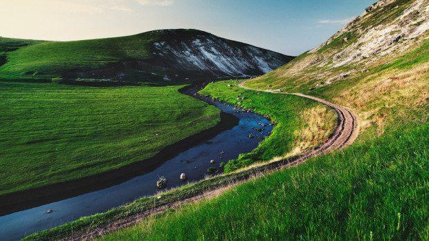 (foto) Primăvara în Moldova: Peisajele pitorești ale fotografului Maxim Chumash