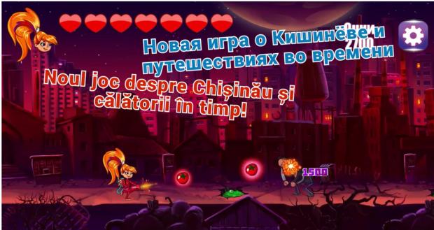 """""""Pomidorca și Mașina Timpului"""" – aruncă cu roșii în hoții care au capturat orașul Chișinău"""