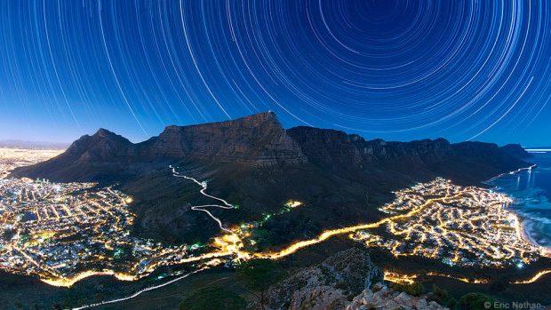 """(foto) Concursul fotografic internațional """"Cerul și Pământul"""" – peisaje de noapte fermecătoare"""