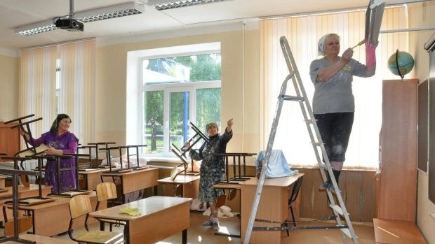 Reparațiile în școlile din Chișinău au fost finalizate