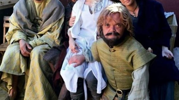 (foto) Dublurile personajelor din Game of Thrones: Daenerys, Tyrion sau Hound