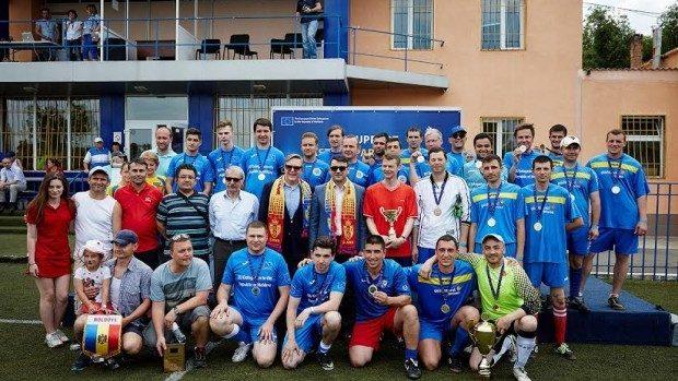 Turneu de fotbal inedit la Chișinău – organizațiile internaționale și-au dat întâlnire pe gazon