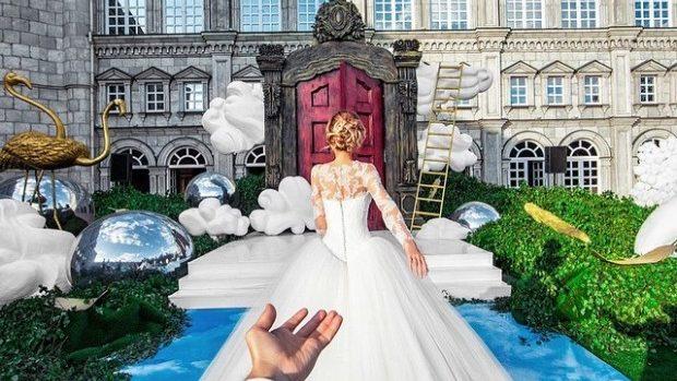 (foto) Autorii proiectului #FollowMeTo s-au căsătorit. Imagini de poveste de la nuntă