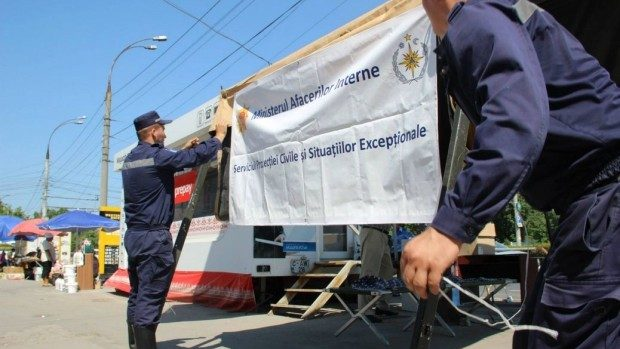 Peste 27 de mii de oameni se protejează de caniculă în corturile instalate de salvatori