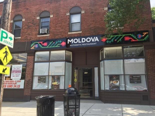 Restaurantul Moldova din orășelul Newport