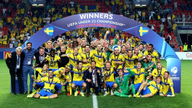 (foto, video) Suedia a câștigat Campionatul European de fotbal de tineret 2015