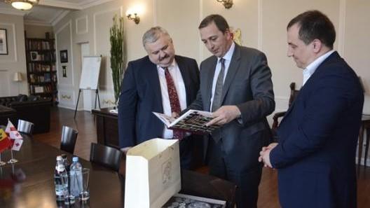 Moldova și Georgia au discutat despre dezvoltarea domeniului culturii în țările estice