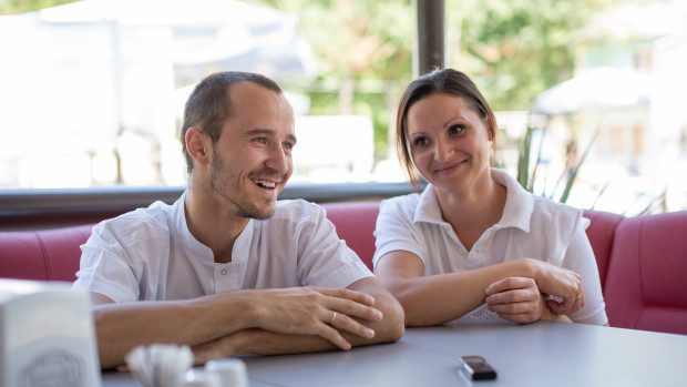 """Căsnicia din bucătăria Pensiunii della nonna: """"Ne-am cunoscut în bucătărie, iar acum suntem de nedespărțit"""""""