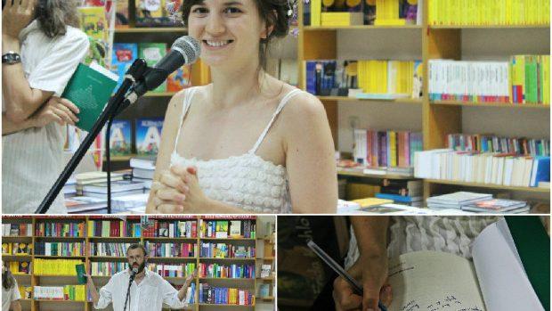 """(foto) Tânăra poetă Maria-Paula Erizanu și-a lansat cea de-a doua carte """"Ai grijă de tine"""""""