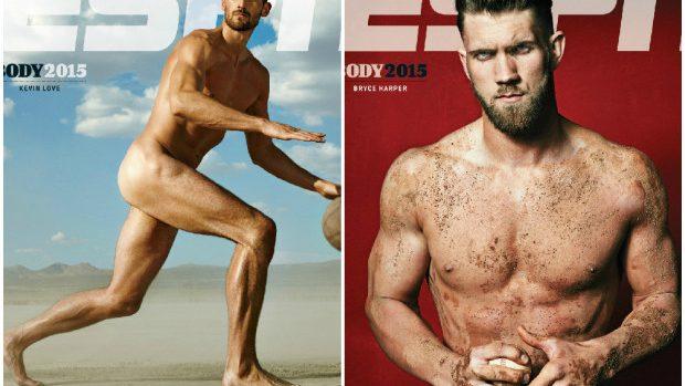 (foto) Sportivii cu renume și-au dezgolit corpurile sculptate pentru revista ESPN