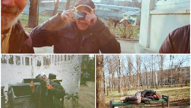 (foto) Ochii străzii: Cum este văzută viața celor fără adăpost din umbra orașului