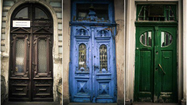 (foto) Urmele Chișinăului Vechi: Tezaur istoric descoperit în cele mai deosebite uși