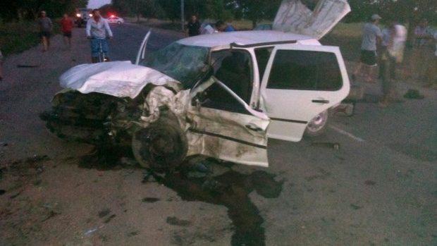 (video) Accident rutier pe traseul Cahul – Giurgiulești: cinci tineri au fost răniți