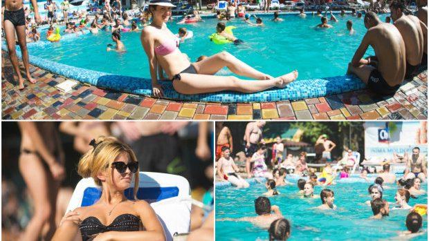(foto) O zi la 25 km depărtare de oraș: Baie de soare în piscina răcoritoare de la Pensiunea della nonna