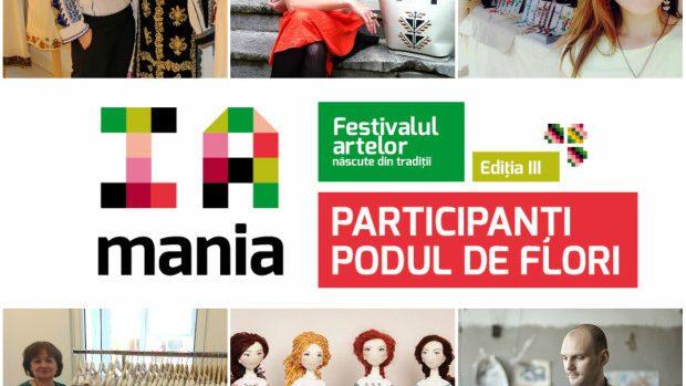 """""""Podul de Flori"""" de la """"IA MANIA"""" reunește artiștii contemporani inspirați de tradiții"""