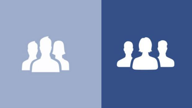 Facebook a schimbat iconițele de grup și cele pentru prieteni
