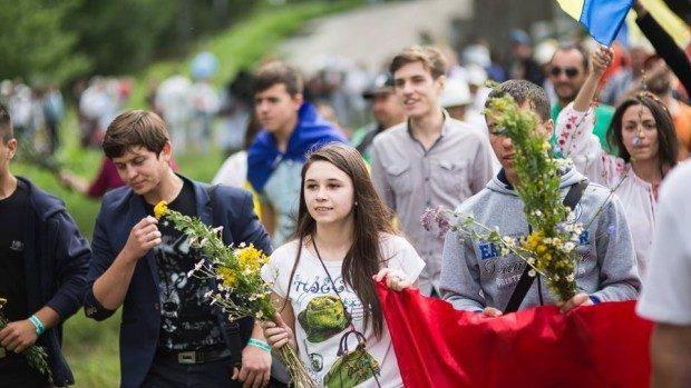 """""""Chișinău și București, două inimi românești"""" – Marșul lui Ștefan cel Mare a ajuns la București"""