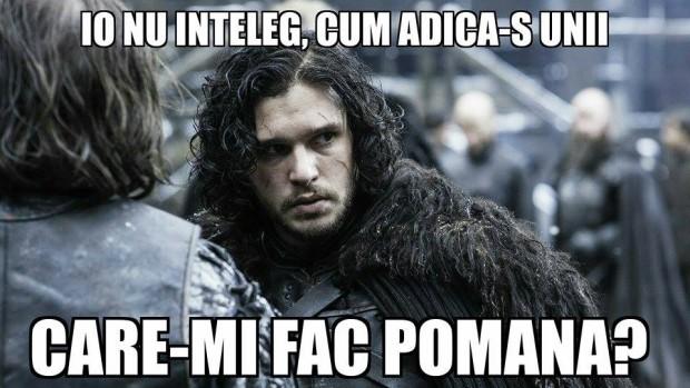 La București se va face praznic de 40 zile pentru Jon Snow