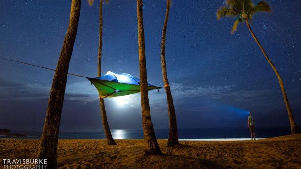Un nou model de cort care-ți permite să dormi în aer liber