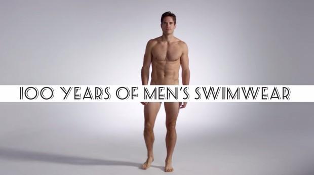 (video) Evoluția costumului de baie bărbătesc în ultimii 100 de ani
