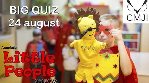 Asociația Little People Moldova și CMJI te invită la un quiz caritabil