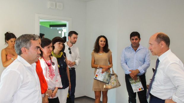 Streleț s-a întâlnit în Italia cu moldovenii din diasporă. Ce au discutat