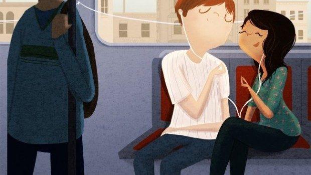 (foto) 21 de ilustrații despre cum este dragostea adevărată în fiecare zi