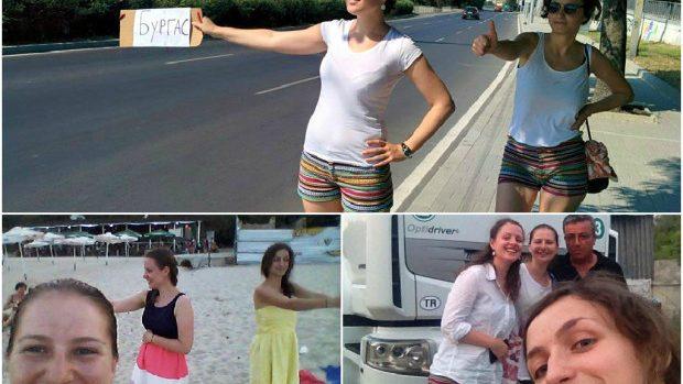 (foto) Peripețiile a trei tinere moldovence care au călătorit cu autostopul până în Grecia