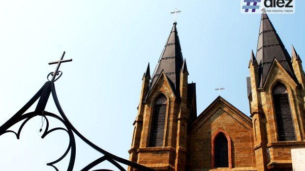 (foto) Perla arhitecturală din centrul Orheiului – Biserica Romano-Catolică