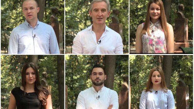 """(video) Ziua Limbii Române: Leancă și tinerii PPEM au recitat """"În limba ta"""""""