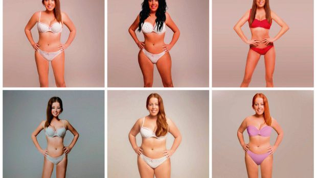 (foto) Cum arată frumusețea photoshopată a femeilor în viziunea a 18 designeri din toată lumea
