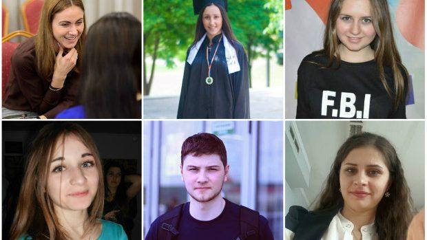 Ei sunt cei 30 de studenți care vor primi o bursă din partea Guvernului în anul de studii 2015 – 2016