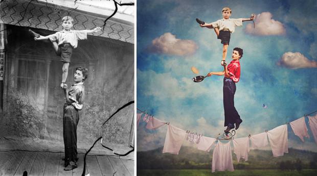 (foto) Dancing with Costică – imaginile României comuniste recreate suprarealist