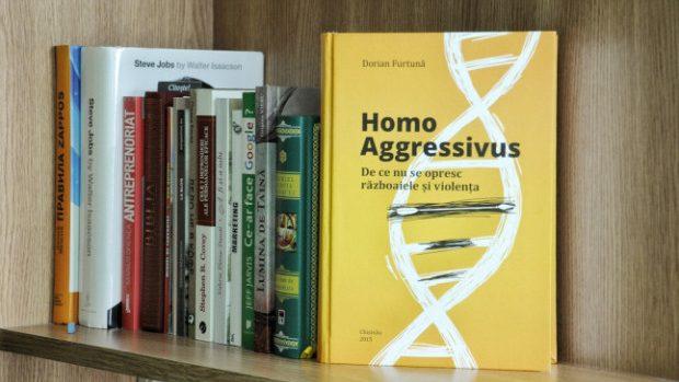 """15 lucruri interesante pe care le vei afla din cartea """"Homo Aggressivus"""" de Dorian Furtună"""
