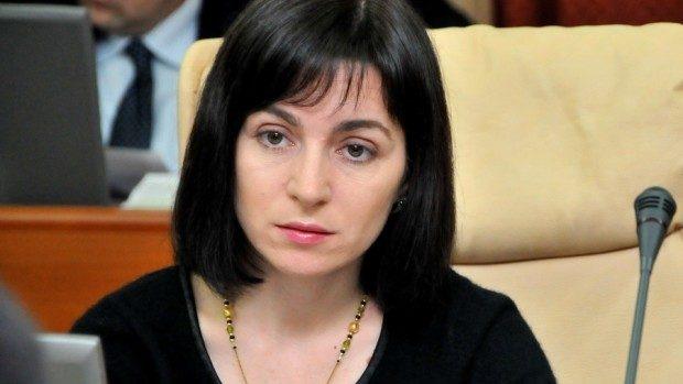 Maia Sandu critică noua conducere a Ministerului Educației într-un mesaj pe Facebook
