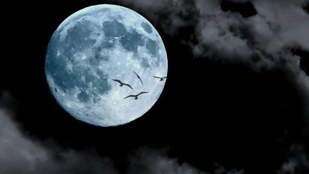 (foto) Cum a fost văzută Luna Albastră în diverse imagini