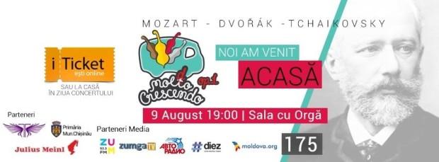 Moldo Crescendo Classical Music Festival în premieră la Chișinău