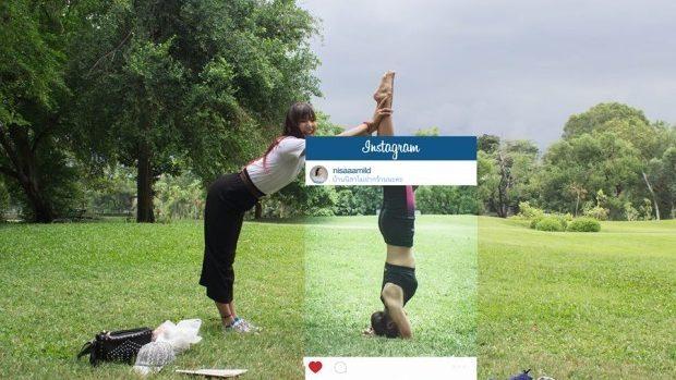 (foto) Crudul adevăr din spatele pozelor perfecte postate pe Instagram
