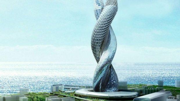 (foto) Cele mai bizare clădiri din lume, care se construiesc acum