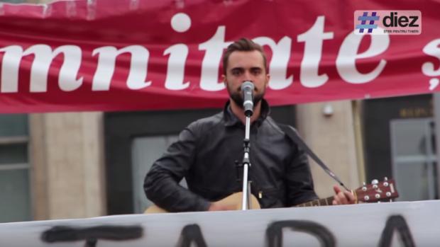 (video) Cătălin Josan la protestul din 13 septembrie: Am demonstrat că putem să facem lucruri fără să cerem ceva în schimb