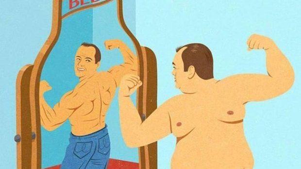 (foto) Ilustrații satirice ale problemelor din prezent redate în stilul anilor '50